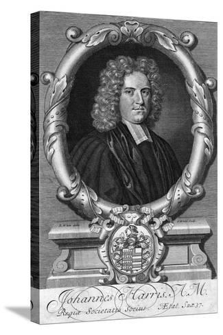 Portrait of John Harris, Late 17th or Early 18th Century-G White-Stretched Canvas Print