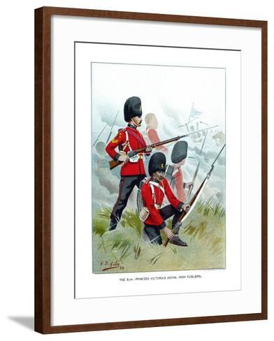 The 87th Princess Victoria's (Royal Irish Fusilier), C1890-Geoffrey Douglas Giles-Framed Art Print