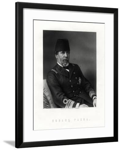 Augustus Charles Hobart-Hampden, (1822-188), English Naval Captain-George J Stodart-Framed Art Print