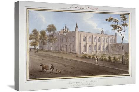 The Philanthropic Society Institution, Southwark, London, 1825-G Yates-Stretched Canvas Print