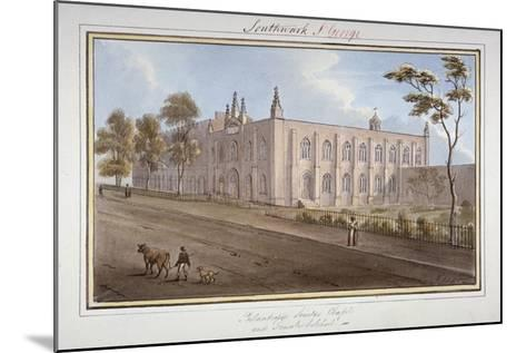 The Philanthropic Society Institution, Southwark, London, 1825-G Yates-Mounted Giclee Print