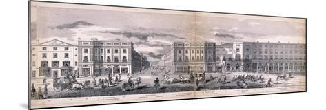 Panorama of London, 1849-George C Leighton-Mounted Giclee Print