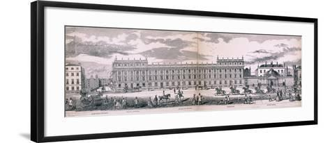 Panorama of London, 1849-George C Leighton-Framed Art Print