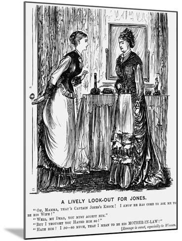 A Lively Look-Out for Jones, 1876-George Du Maurier-Mounted Giclee Print