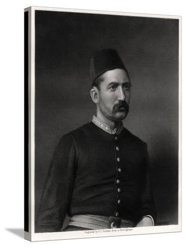 Suleiman Pasha, 19th Century-George J Stodart-Stretched Canvas Print