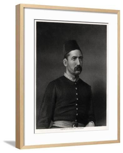 Suleiman Pasha, 19th Century-George J Stodart-Framed Art Print