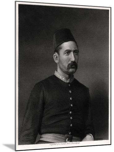Suleiman Pasha, 19th Century-George J Stodart-Mounted Giclee Print