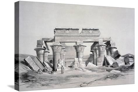 Koom-Ombos, Egypt, 1843-George Moore-Stretched Canvas Print