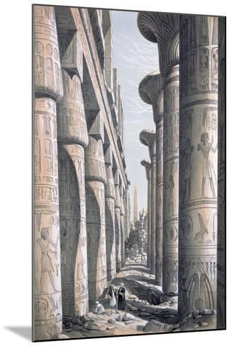 Great Temple, Karnac, Egypt, 19th Century-George Moore-Mounted Giclee Print