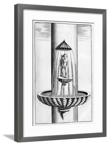 Ornamental Fountain Design, 1664-Georg Andreas Bockler-Framed Art Print