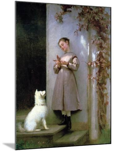 Playmates, 1868-George Cochran Lambdin-Mounted Giclee Print