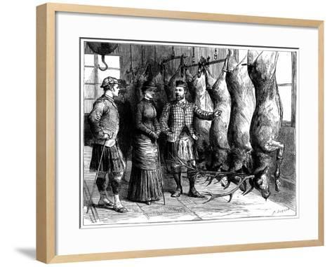 Duke of Fife's Game Larder, 1881-G Durand-Framed Art Print