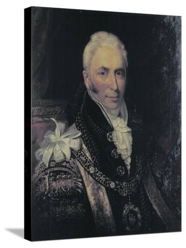 Sir Matthew Wood, Lord Mayor 1815-1817-George Patten-Stretched Canvas Print