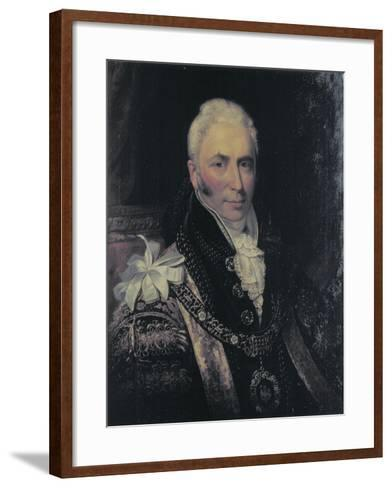Sir Matthew Wood, Lord Mayor 1815-1817-George Patten-Framed Art Print