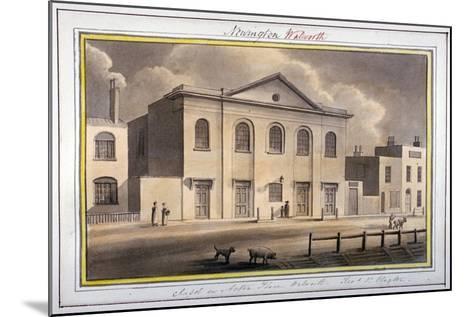 Acton Place Chapel, Southwark, London, 1825-G Yates-Mounted Giclee Print