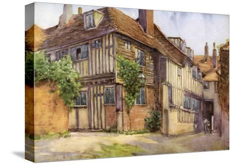 Mermaid Inn, Rye, Sussex, 1924-1926-George F Nicholls-Stretched Canvas Print