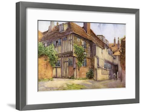 Mermaid Inn, Rye, Sussex, 1924-1926-George F Nicholls-Framed Art Print