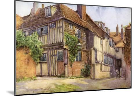 Mermaid Inn, Rye, Sussex, 1924-1926-George F Nicholls-Mounted Giclee Print