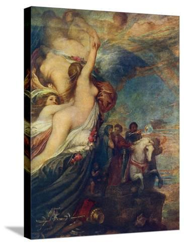 Life's Illusions, 1849-George Frederick Watts-Stretched Canvas Print