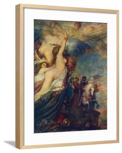 Life's Illusions, 1849-George Frederick Watts-Framed Art Print