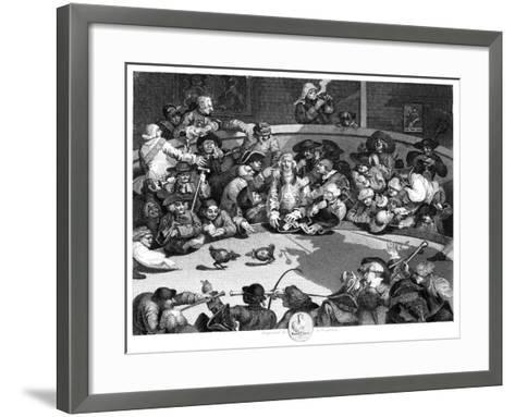 The Cock Pit, C1840-George Presbury-Framed Art Print