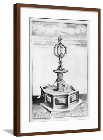 Fountain Design, 1664-Georg Andreas Bockler-Framed Art Print