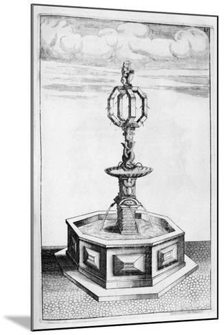 Fountain Design, 1664-Georg Andreas Bockler-Mounted Giclee Print
