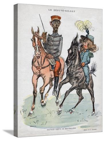 Nouvelle Preuve De Bienveillance-Garnier-Stretched Canvas Print