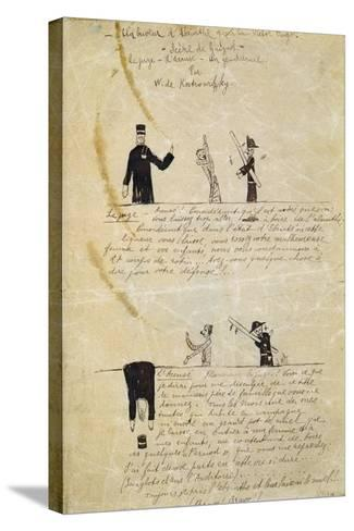 Absinthe/Victor Hugo, C1895-1900-Guillaume Apollinaire-Stretched Canvas Print