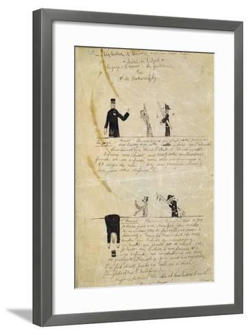 Absinthe/Victor Hugo, C1895-1900-Guillaume Apollinaire-Framed Art Print