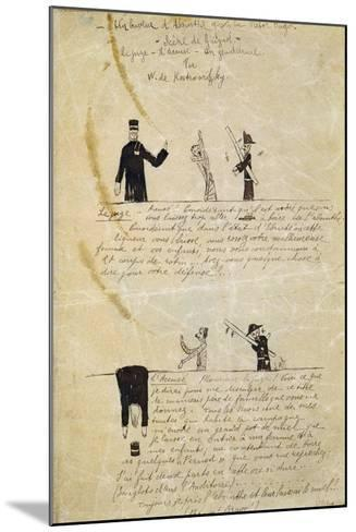 Absinthe/Victor Hugo, C1895-1900-Guillaume Apollinaire-Mounted Giclee Print