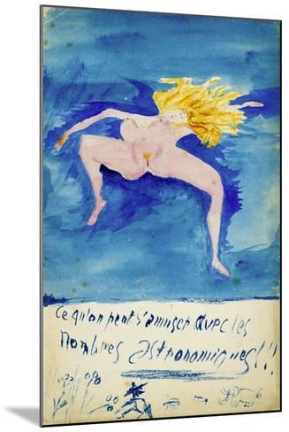 Ce Qu'On S'Amuser Aved Les Nombres Astronomiques!!, C1914-Guillaume Apollinaire-Mounted Giclee Print
