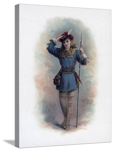 Rosalind, 1891-H Saunders-Stretched Canvas Print