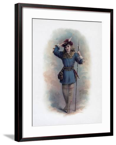 Rosalind, 1891-H Saunders-Framed Art Print