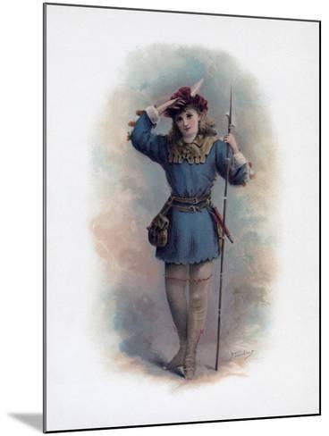 Rosalind, 1891-H Saunders-Mounted Giclee Print