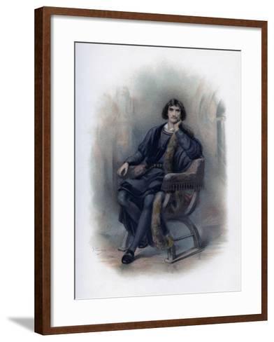 Hamlet, 1891-H Saunders-Framed Art Print