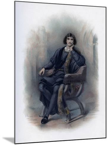 Hamlet, 1891-H Saunders-Mounted Giclee Print