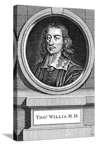 Thomas Willis, 17th Century English Physician, 1742-George Vertue-Stretched Canvas Print