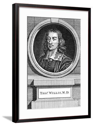 Thomas Willis, 17th Century English Physician, 1742-George Vertue-Framed Art Print