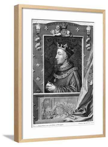 Henry V, King of England-George Vertue-Framed Art Print