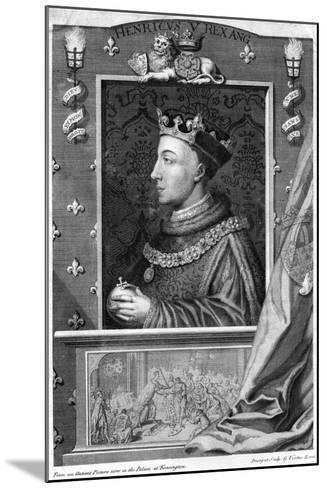 Henry V, King of England-George Vertue-Mounted Giclee Print