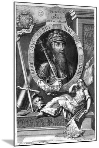 King Edward III of England, (18th Centur)-George Vertue-Mounted Giclee Print