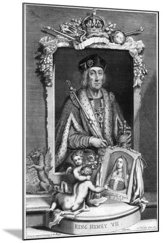 Henry VII of England, (18th Centur)-George Vertue-Mounted Giclee Print