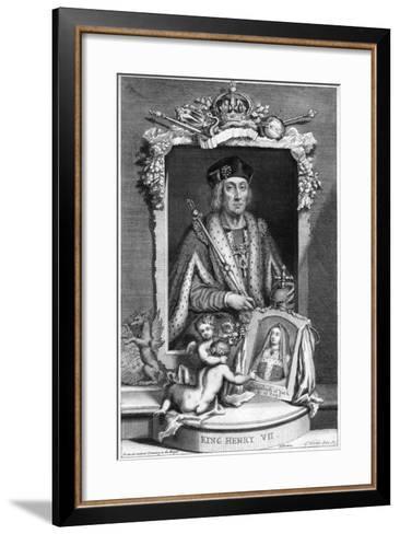 Henry VII of England, (18th Centur)-George Vertue-Framed Art Print
