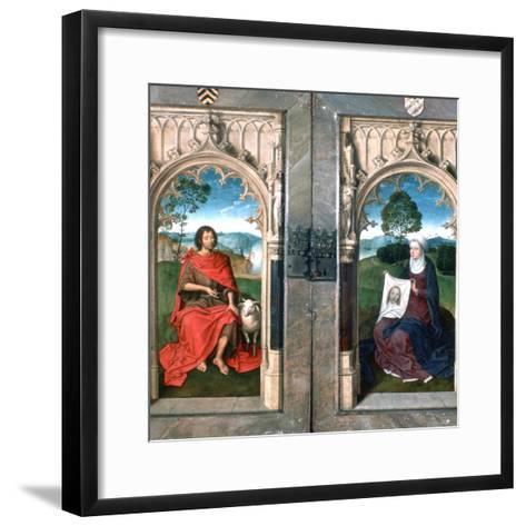 Triptych of Jan Florain, 1479-Hans Memling-Framed Art Print