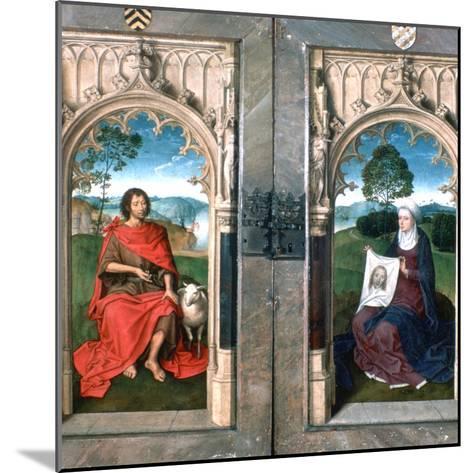 Triptych of Jan Florain, 1479-Hans Memling-Mounted Giclee Print