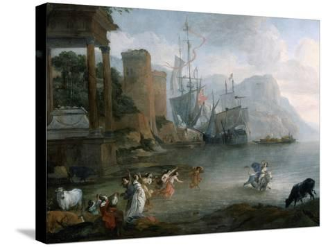 The Abduction of Europa, 17th Century-Hendrick van Minderhout-Stretched Canvas Print