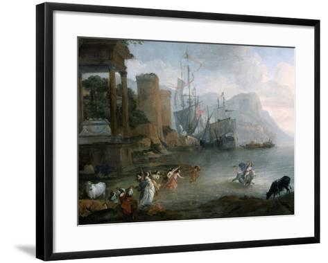 The Abduction of Europa, 17th Century-Hendrick van Minderhout-Framed Art Print