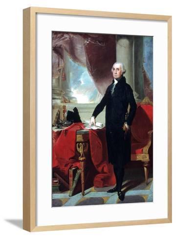 George Washington (1732-9), 1796-Gilbert Stuart-Framed Art Print
