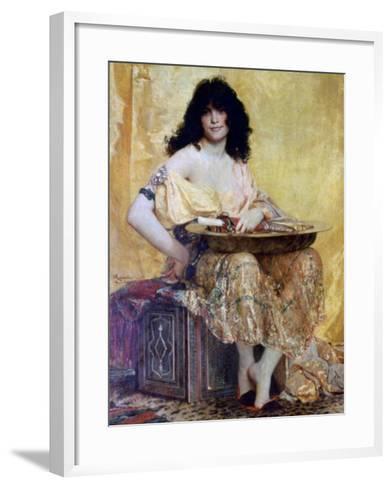 Salomé, 1870-Henri Alexandre Georges Regnault-Framed Art Print